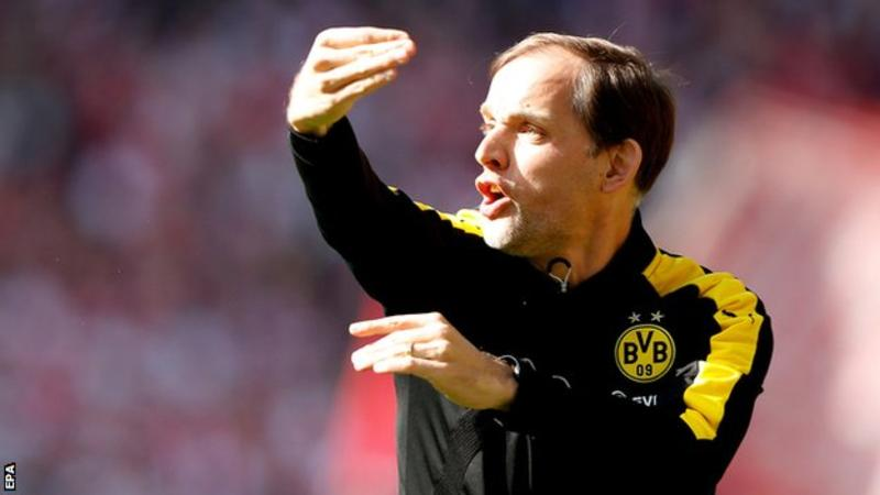 Tuchel won the German Cup at Borussia Dortmund