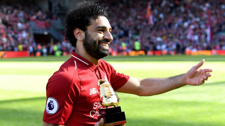 Mohamed Salah won this season's Golden Boot