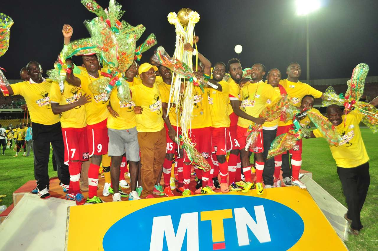MTN FA Cup, Kotoko are holders