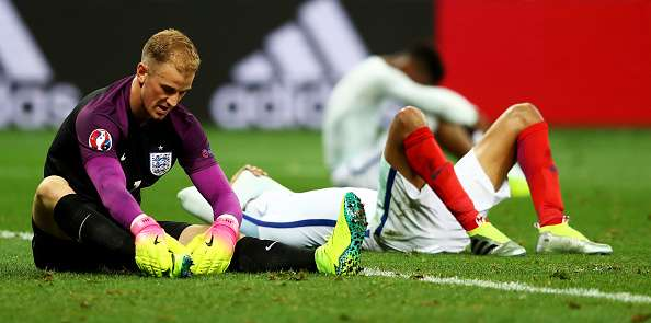 Joe Hart has been dropped from the England squad
