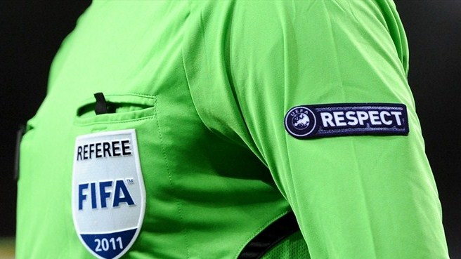 Two referees suspended