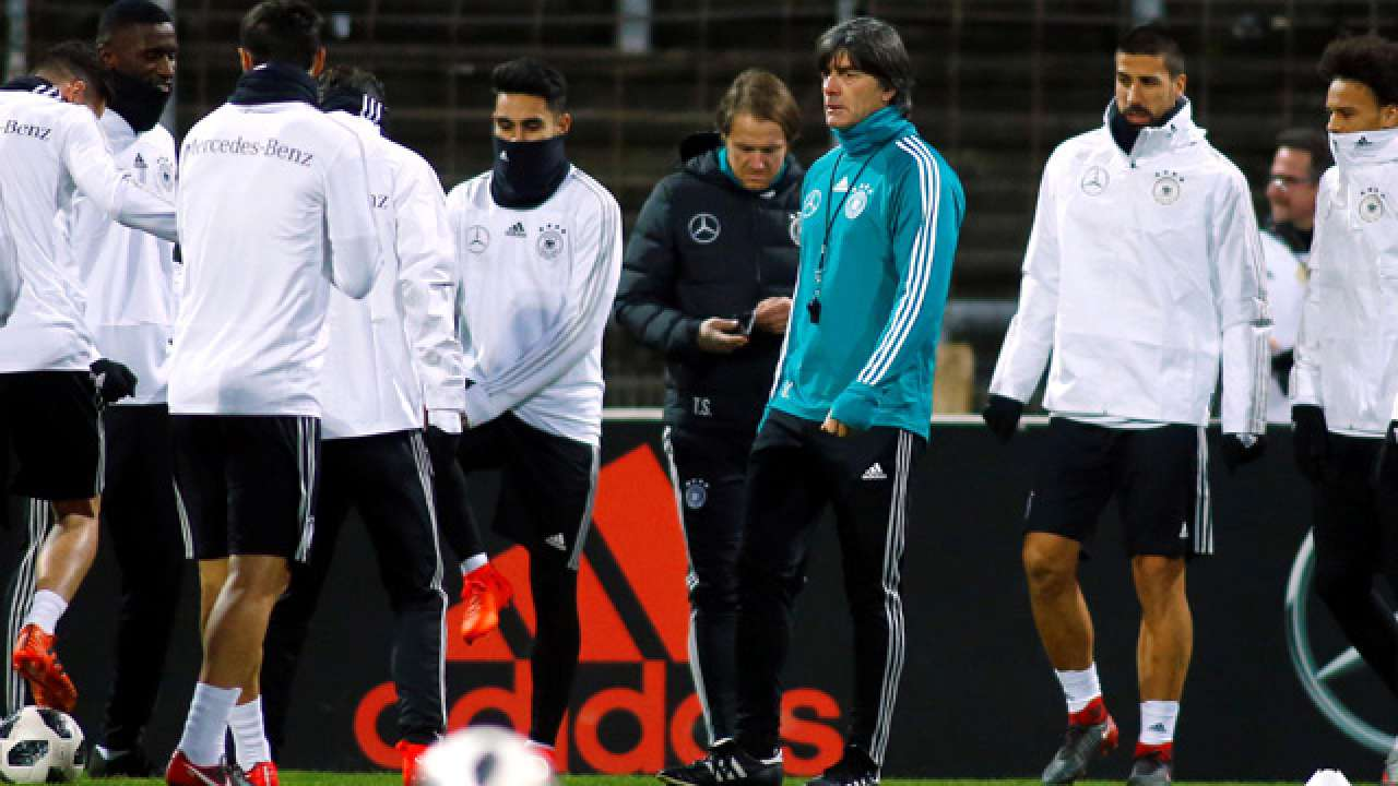 Joachim Low has banned World Champions Germany from sex