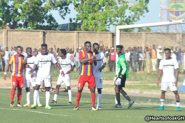 Inter Allies beat Hearts 1-0 in the ZCPL