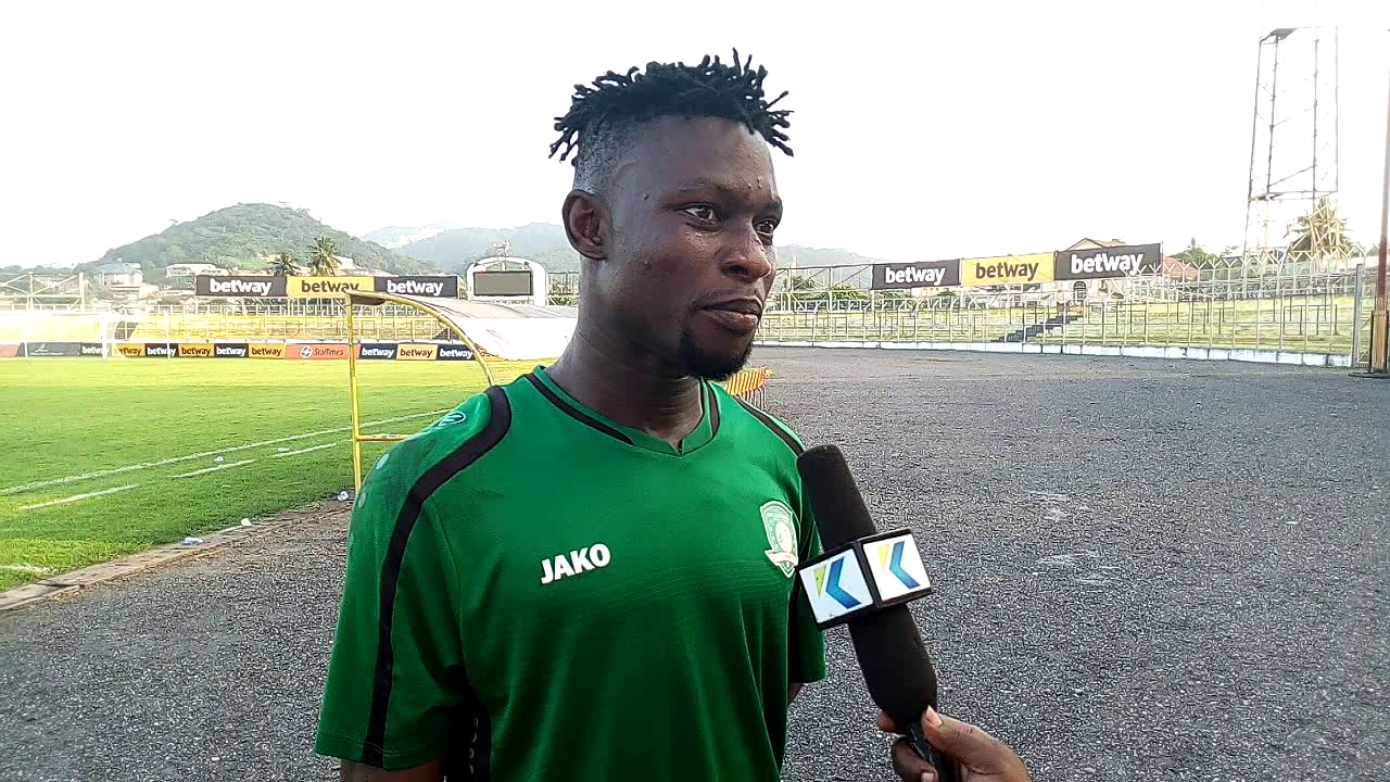 Derrick Sasraku has been fined by Aduana Stars