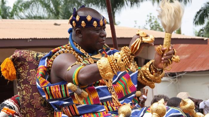 Image result for Otumfuo Osei Tutu II