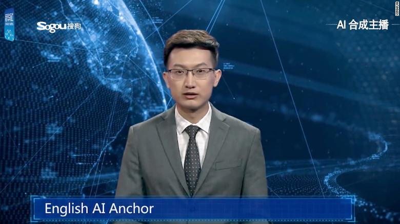 China has developed a virtual anchor to deliver the news