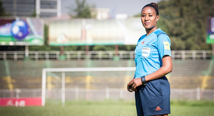 2018 AWCON: Ethiopia referee appointed for Ghana-Algeria opener
