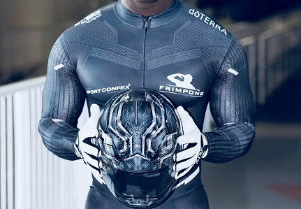Ghana has a Black Panther on ice