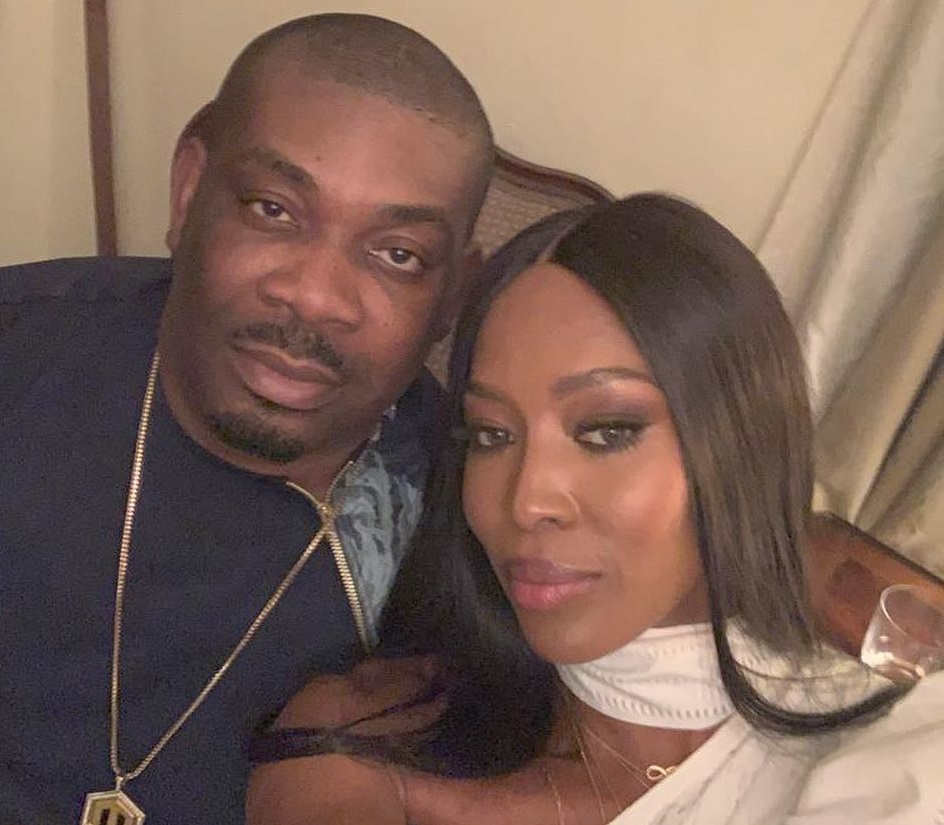 Don Jazzy_Naomi Campbell