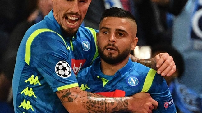Napoli move top after draw with PSG