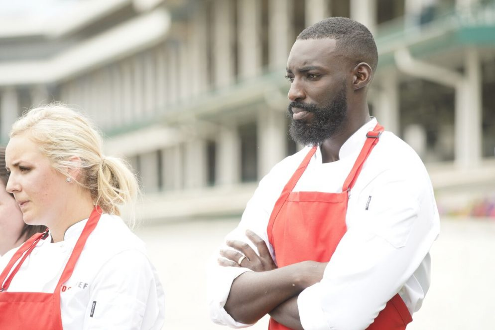 Chef Eric Adjepong appears on season 16 of Top Chef. Photo courtesy Bravo.