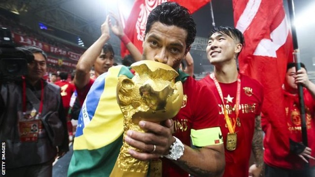 Oscar and Hulk win Chinese Super League with Shanghai SIPG