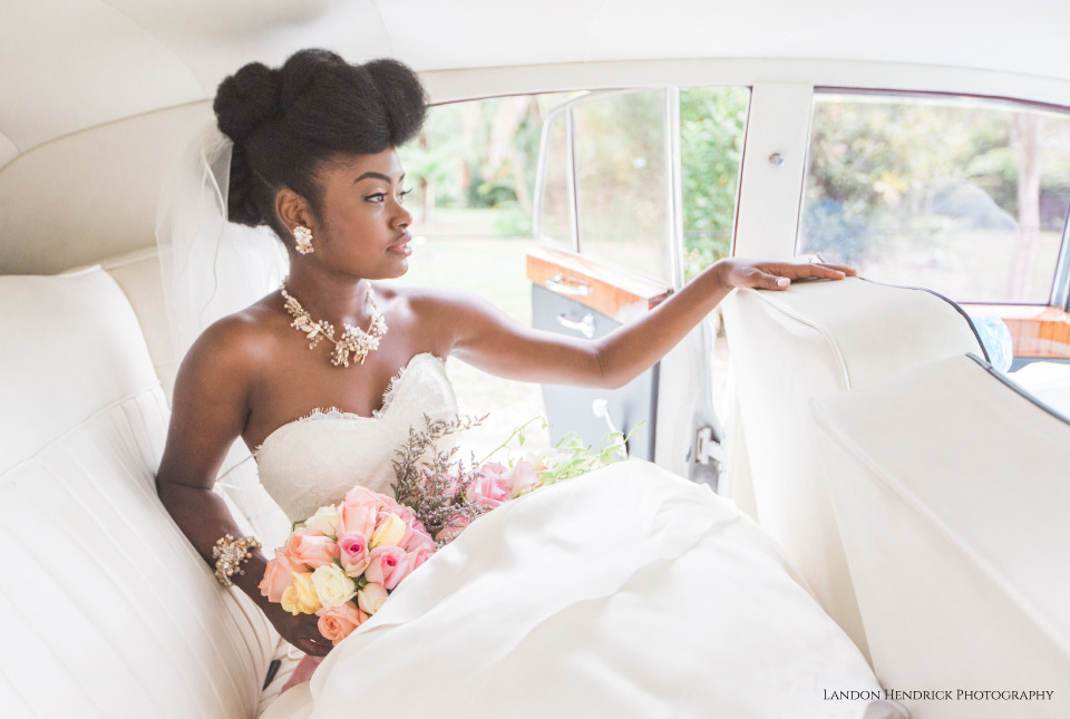 10_ ways of styling  natural hair for weddings