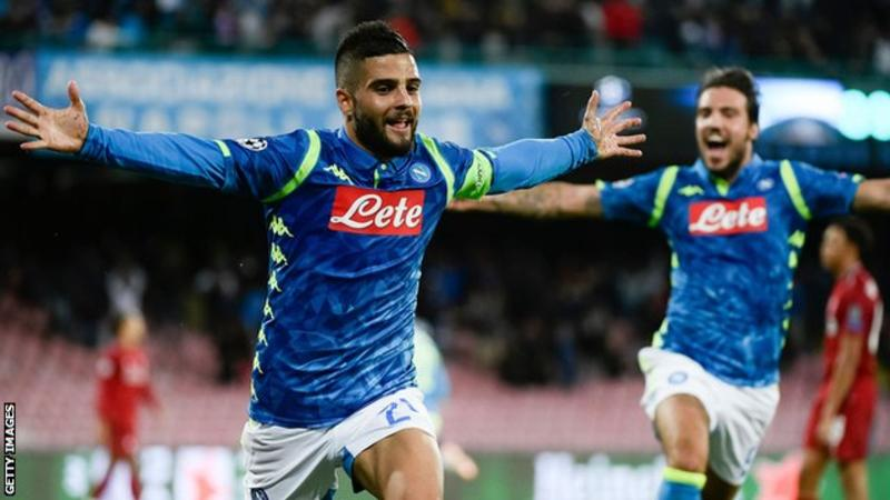 Lorenzo Insigne has scored four goals in his past six Champions League games (Image credit: Getty Images)