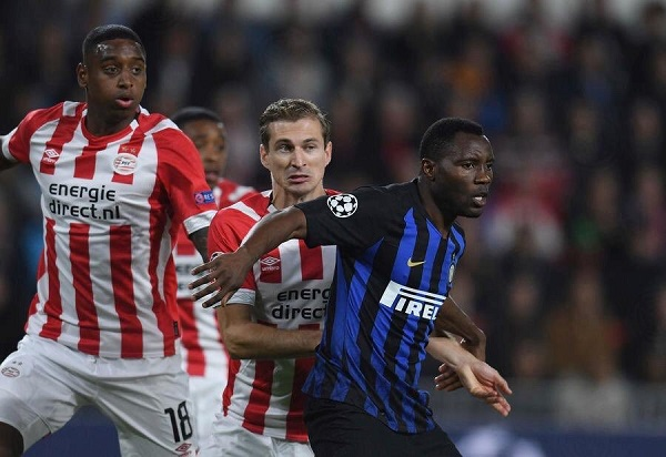 Kwadwo Asamoah delighted with Inter Milan win over PSV