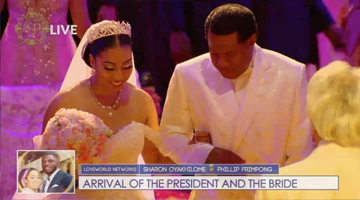 Photos From Pastor Chris' Daughter's White Wedding with her Ghanaian husband