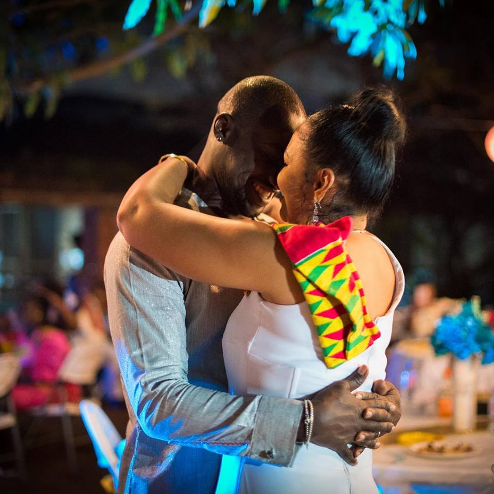 Chris Attoh speaks after his second wedding ceremony