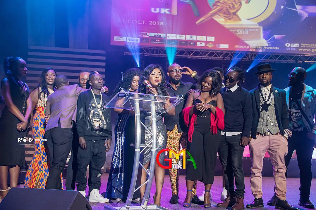 Unseen photos from the Ghana Music Awards UK 2018