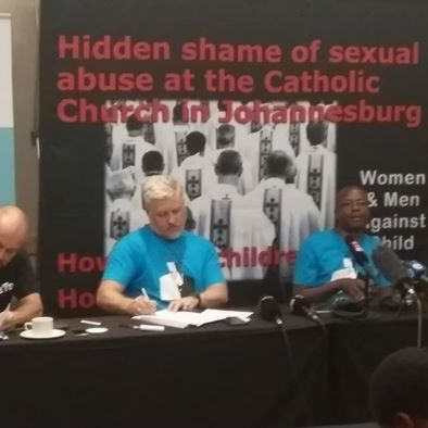 Catholic priest accused of sexually abusing South African