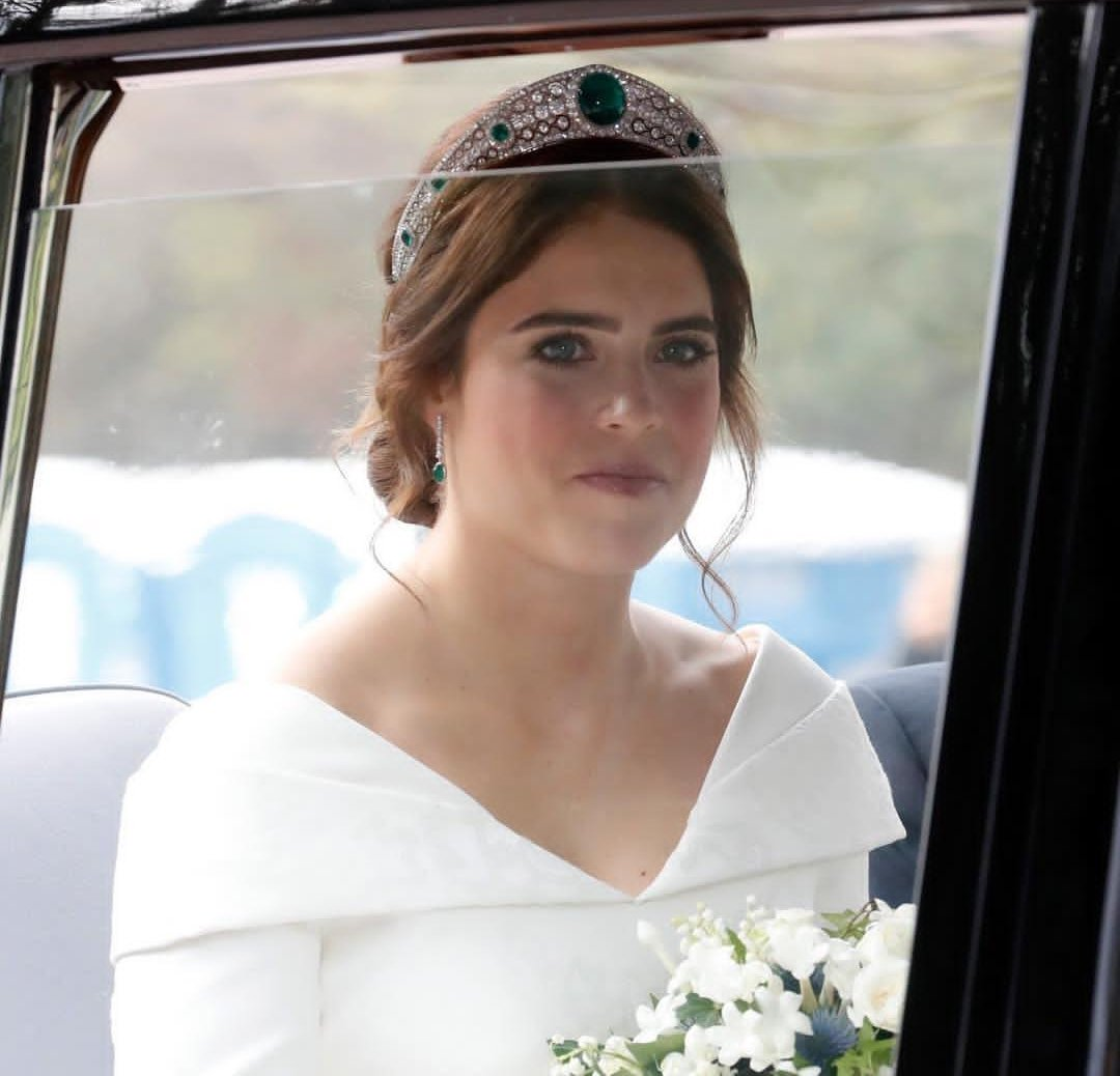 Princess Eugenie makes bold statement with wedding dress revealing scars