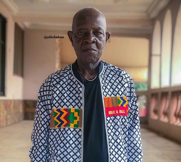 Meet the 90-year-old Ghanaian model