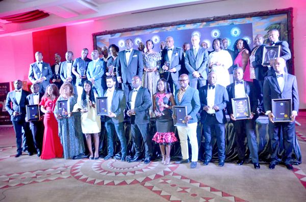 32 Companies, business executives honoured