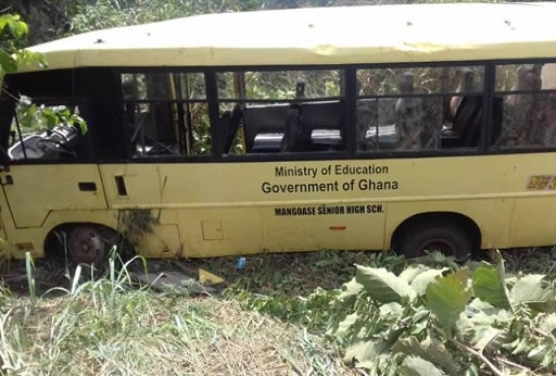 Mangoase SHS: Teacher dead, 56 students injured after accident