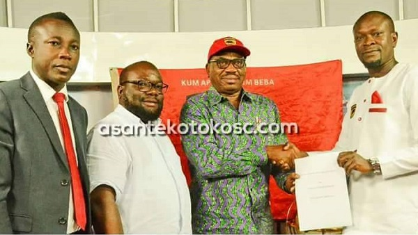 C.K Akunnor joins Kotoko on a 2-year deal