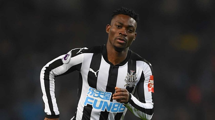 Christian Atsu positive ahead of Manchester United game