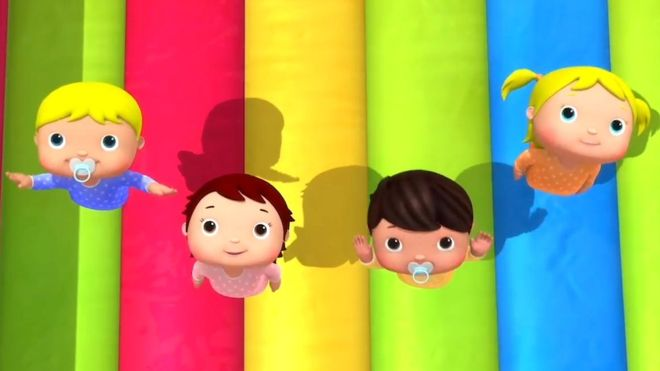 Little Baby Bum's animated videos are brightly coloured and feature a range of characters