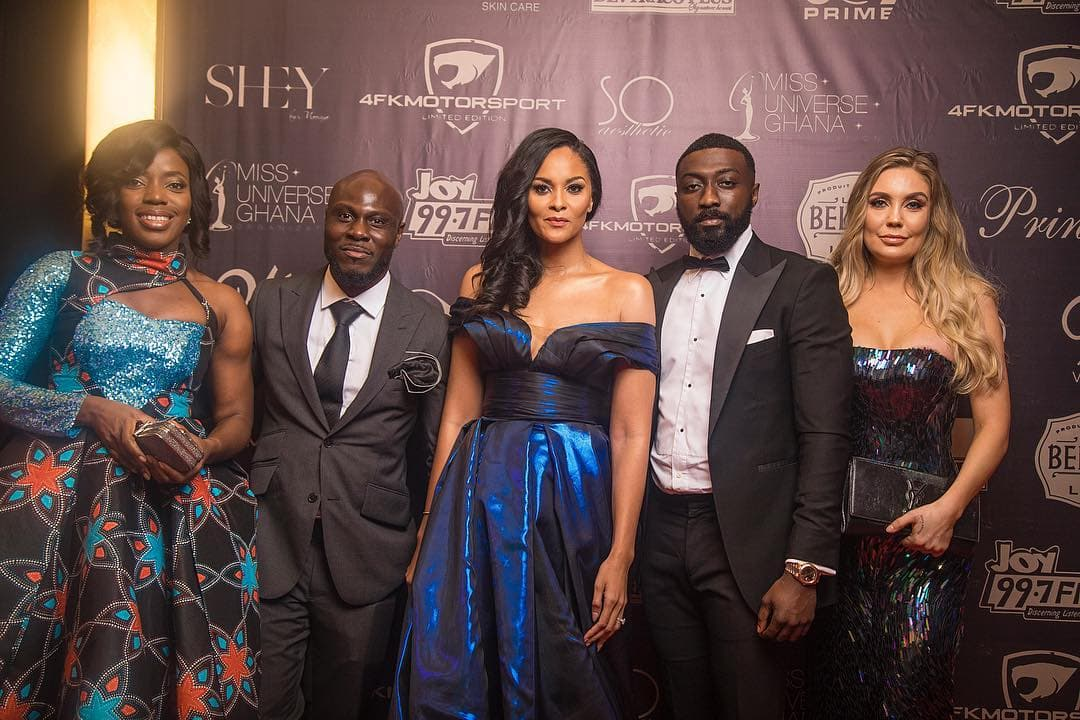 All the glitz and glam from the Miss Universe Ghana 2018 red carpet