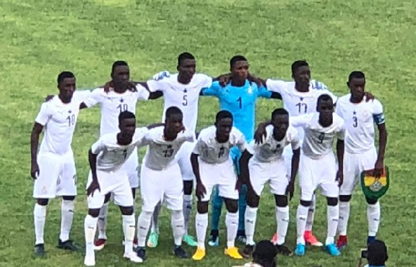 Black Starlets of Ghana failed to beat Nigeria in the final