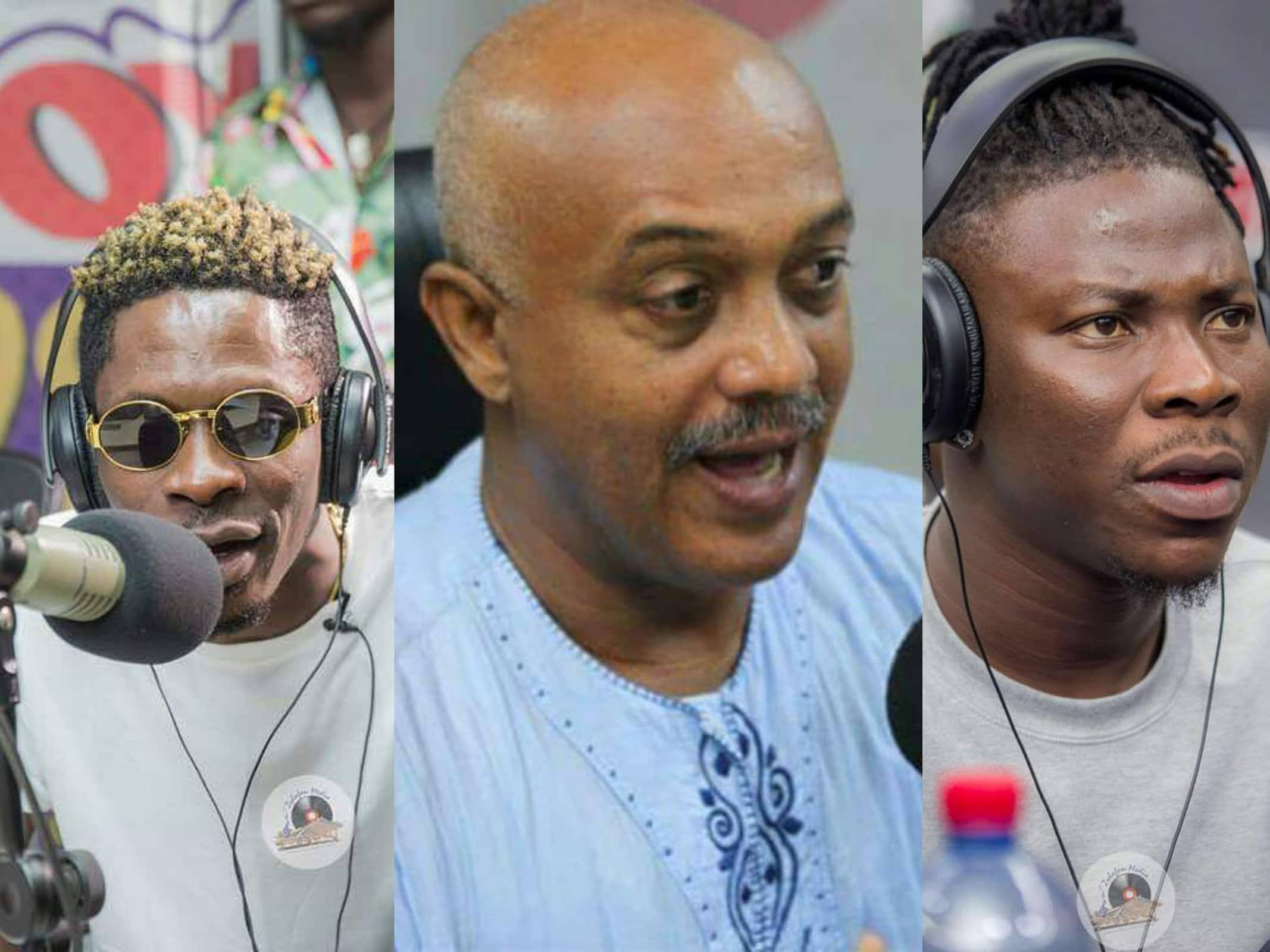 Casely-Hayford petitions Council of State to resolve Shatta Wale, Stonebwoy feud