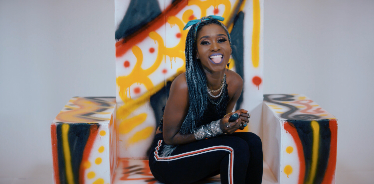 "NanaYaa releases visuals for ""Woman Power"""