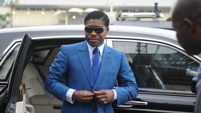 Mr Obiang has been known to share his flamboyant lifestyle on social media