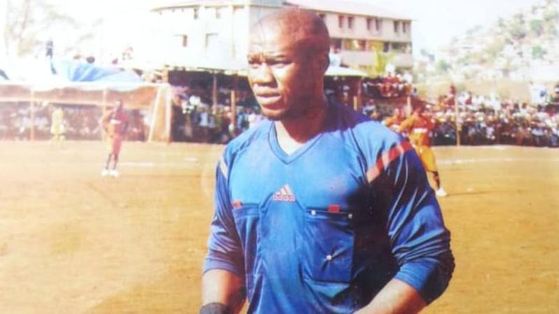Sierra Leonean referee Victor Marah had recently attended a Confederation of African Football course in Egypt