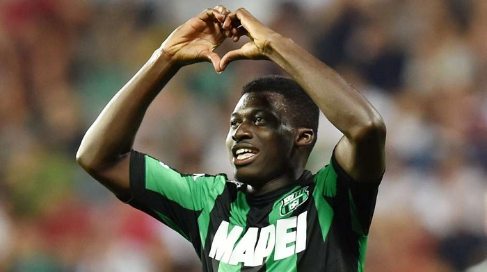 Alfred Duncan happy with consistent form Sassuolo