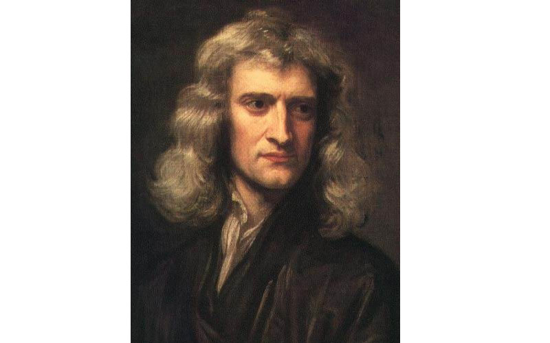 Isaac Newton discovered gravity but was also interested in religion and an avid reader of the Bible