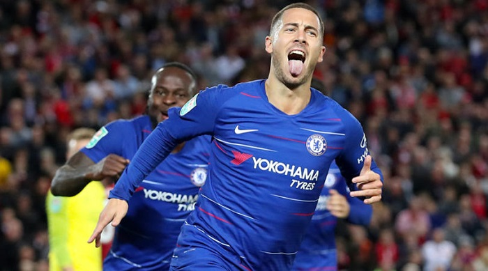 Hazard: I only care about winning, not Messi/Ronaldo comparisons