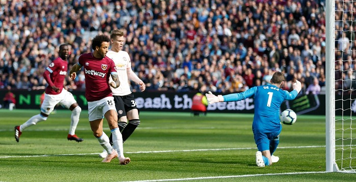 EPL: West Ham sinks Manchester United