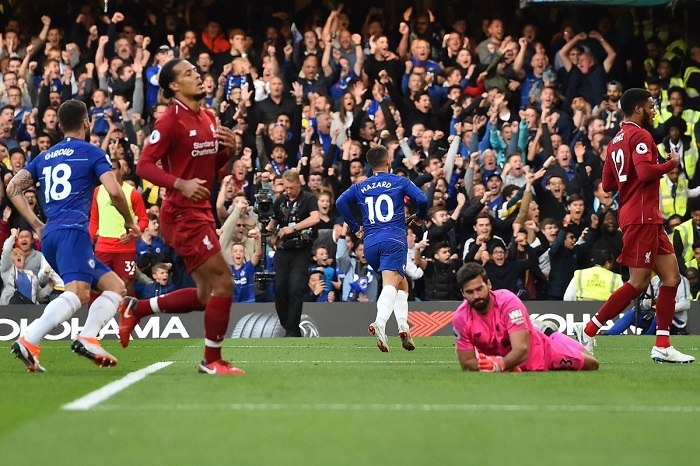 Chelsea end Liverpool's '100' perfect record