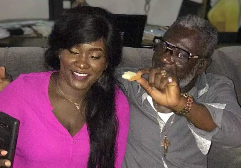 Ebony's dad, Nana Opoku Kwarteng Celebrates 60th birthday with young ladies