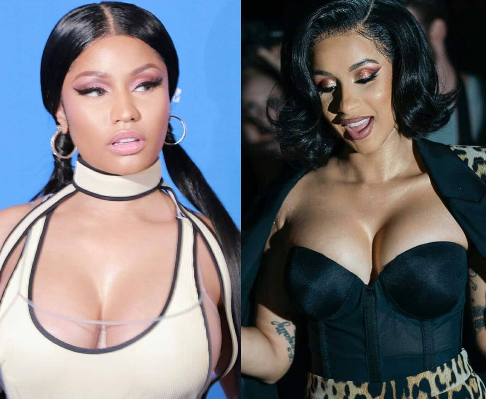 Nicki Minaj fires back at Cardi B