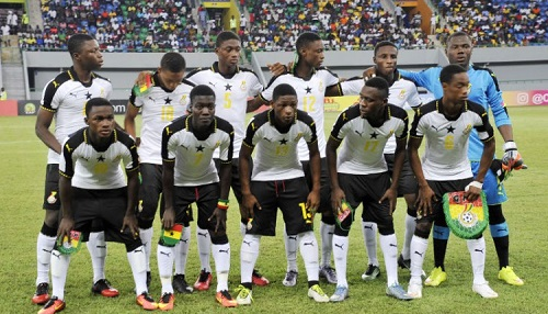 Black Starlets starting XI against Niger