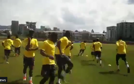 Black Stars wrap up their training in Ethiopia