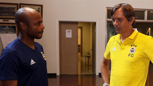 Andre Ayew tells Cocu to play him on the left