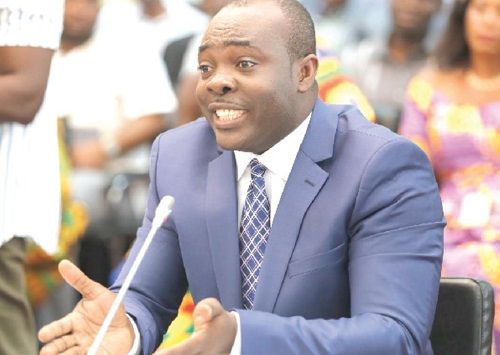 Minister of Youth and Sports Isaac Asiamah