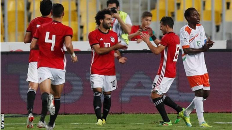 Salah has scored 37 goals in 60 appearances for Egypt