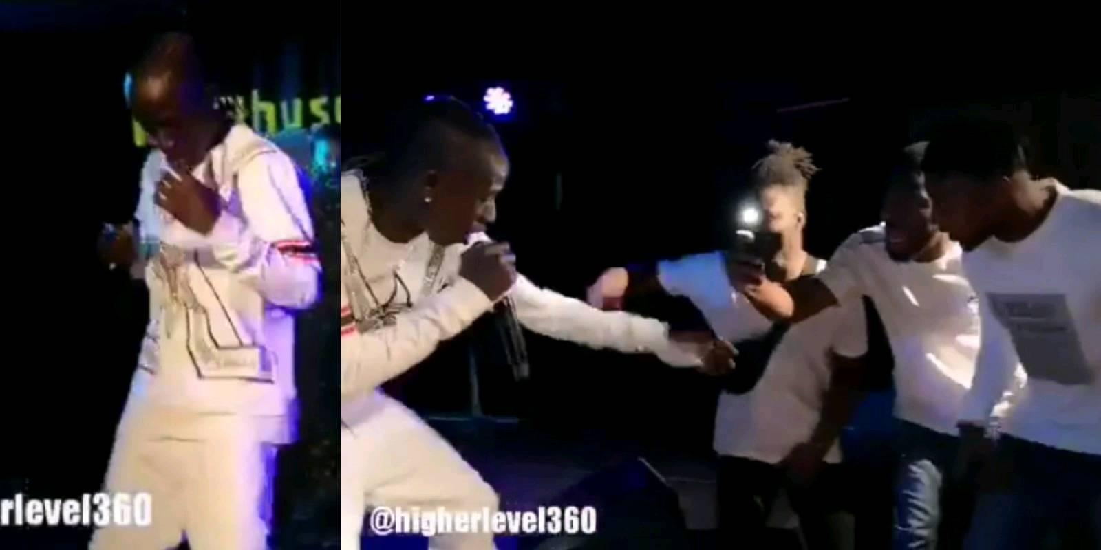 Patapaa performs to 3 people in Norway