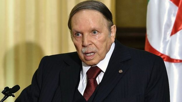 Algeria president Bouteflika resigns amid mass protests
